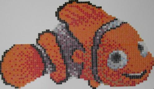 Nemo 1x1-es mozaikból