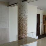 Mozaik színátmenet a nappaliban