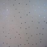 Mozaik burkolat gyöngyház pöttyözéssel