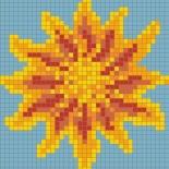 Mozaikkép számítógépes terve