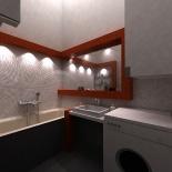Fürdőszoba látványterve