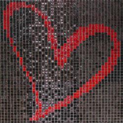 Modern mozaik falburkolat