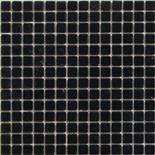 Buborékmentes ében üvegmozaik 1x1