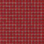 Buborékmentes málna üvegmozaik 1x1