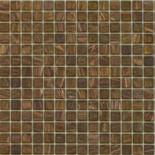 KG25 barna arannyal futtatott üvegmozaik 1x1