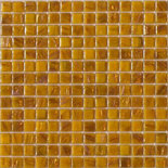 KG38 sárga arannyal futtatott üvegmozaik 1x1