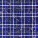 KG60 kék arannyal futtatott üvegmozaik 1x1