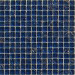 KG68 sötétkék arannyal futtatott üvegmozaik 1x1