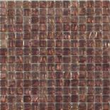 KG77 lila arannyal futtatott üvegmozaik 1x1