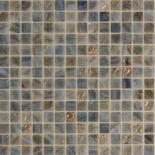 XG58 szürke arannyal futtatott üvegmozaik 1x1