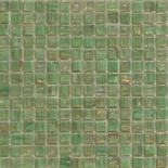 XG22 zöld arannyal futtatott üvegmozaik 1x1