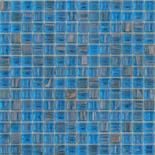 XG62 világoskék arannyal futtatott üvegmozaik 1x1