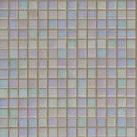 R02 fehér gyöngyházfényű üvegmozaik 1x1