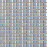 R13 világoskék gyöngyházfényű üvegmozaik 1x1