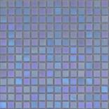 R15 kék gyöngyházfényű üvegmozaik 1x1