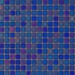 R17 sötétkék gyöngyházfényű üvegmozaik 1x1
