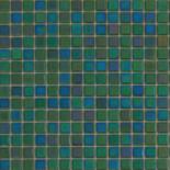 R26 sötétzöld gyöngyházfényű üvegmozaik 1x1