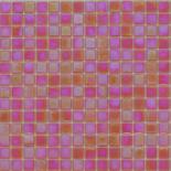 R95 piros gyöngyházfényű üvegmozaik 1x1