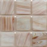 KG113  arannyal futtatott márványos üvegmozaik