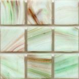KG116  arannyal futtatott márványos üvegmozaik