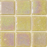 KR09  gyöngyházas üvegmozaik
