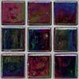 R55  gyöngyházfényű üvegmozaik