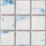 Théra üvegmozaik